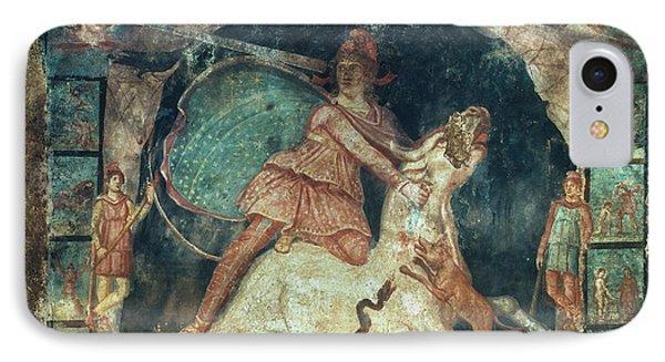 Mithras Killing The Bull Phone Case by Granger