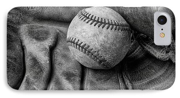 Mitt And Ball Black And White IPhone Case