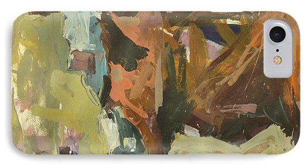 IPhone Case featuring the painting Mixed Media Cow Painting by Robert Joyner