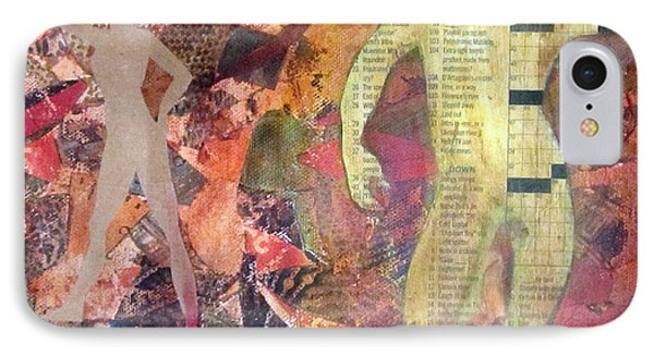 IPhone Case featuring the mixed media Mixed Media by Patricia Cleasby