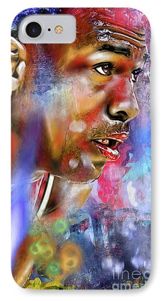 Mj Painted IPhone Case