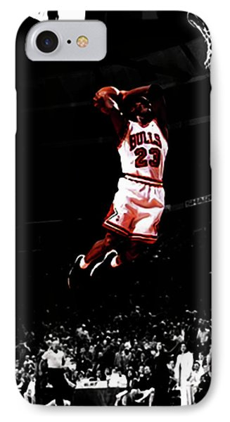 Mj Rises IPhone Case by Brian Reaves