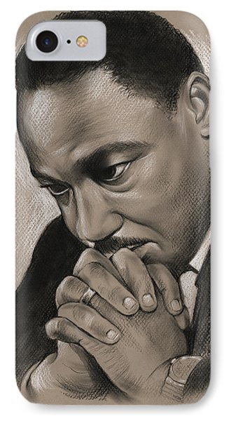 MLK IPhone Case by Greg Joens