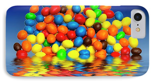 IPhone Case featuring the photograph Mm Chocolate Sweets by David French