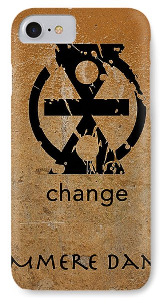 IPhone Case featuring the digital art Mmere Dane Adinkra Symbol by Kandy Hurley