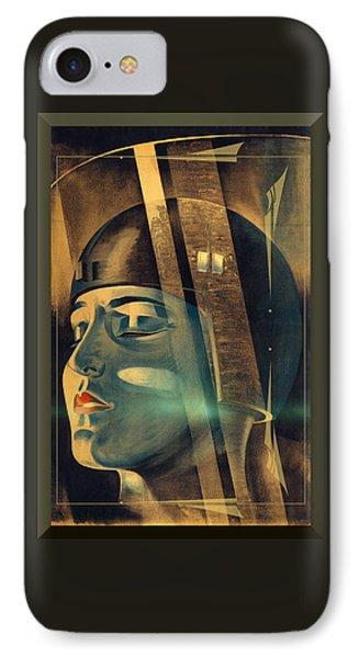 Metropolis Maria Transformation IPhone Case by Robert G Kernodle