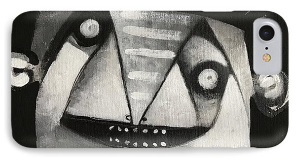 Mmxvii Masks For Despair No 3  IPhone Case by Mark M Mellon