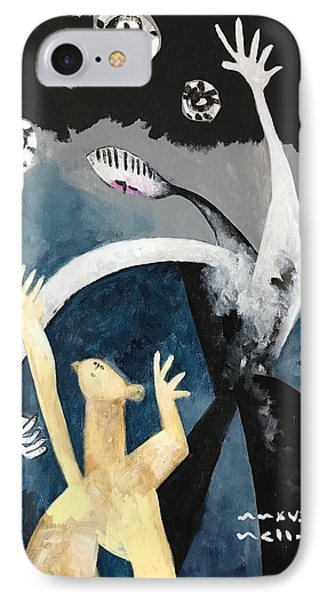 Mmxvii The Ascension No. 2  IPhone Case by Mark M Mellon