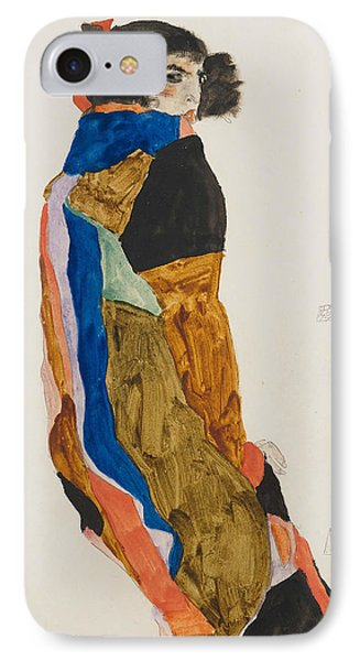 Moa IPhone Case by Egon Schiele