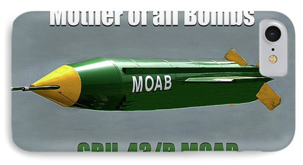 IPhone Case featuring the painting Moab Gbu-43/b by David Lee Thompson