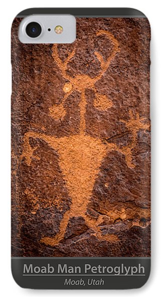 Moab Man Poster IPhone Case by Gary Whitton