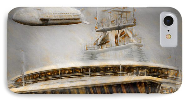 IPhone Case featuring the painting Moby Air by Michael Cleere
