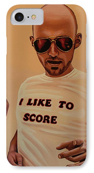 Moby Painting IPhone Case by Paul Meijering