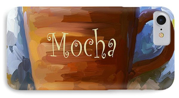 Mocha Coffee Cup IPhone Case