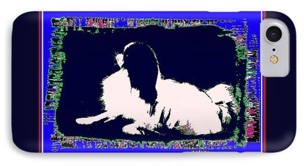 Mod Dog Phone Case by Kathleen Sepulveda