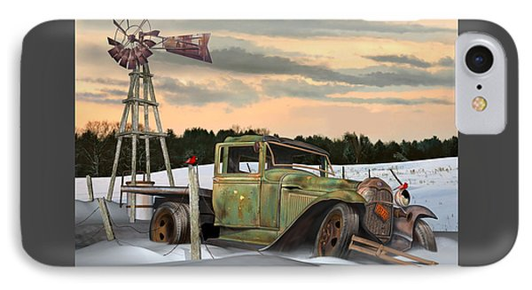 Model A Flatbed IPhone Case by Stuart Swartz