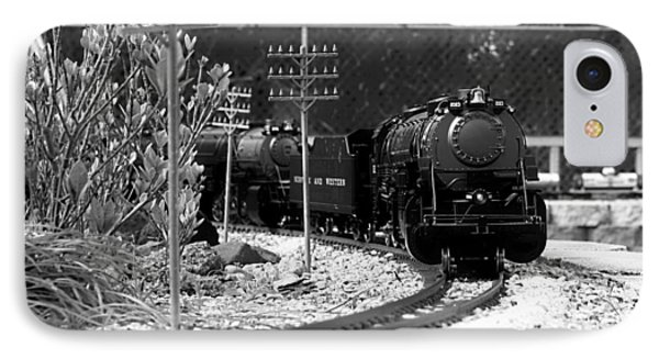 Model Locomotive Phone Case by Debra Forand