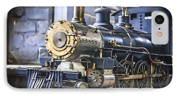 Model Train IPhone Case by Scott Hansen