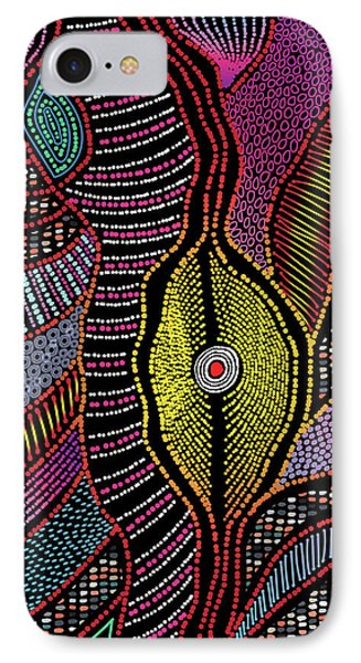 Modern Aboriginal 5 IPhone Case