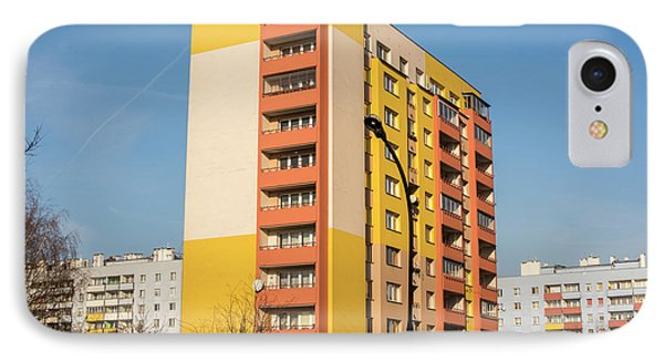 IPhone Case featuring the photograph Modern Apartment Buildings by Juli Scalzi
