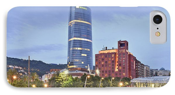 Modern Architecture Bilbao Spain IPhone Case by Marek Stepan