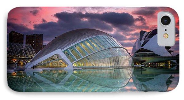 Modern Architecture In Valencia  IPhone Case
