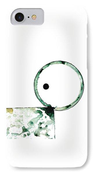 Modern Art - Balancing Act 2 - Sharon Cummings IPhone Case by Sharon Cummings