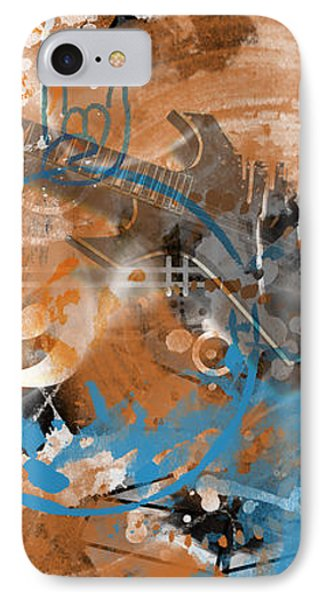 Modern-art Beyond Control II IPhone Case