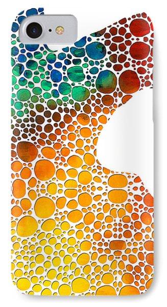 Modern Art - Colorforms 1 - Sharon Cummings IPhone Case by Sharon Cummings