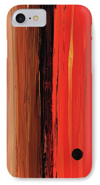 Modern Art - The Power Of One Panel 1 - Sharon Cummings IPhone Case