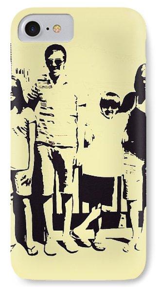 Modern Day Single Mom Family Vacation  Phone Case by Sheri Buchheit