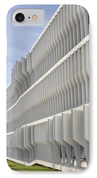 IPhone Case featuring the photograph Modern Facade Abstract by Marek Stepan