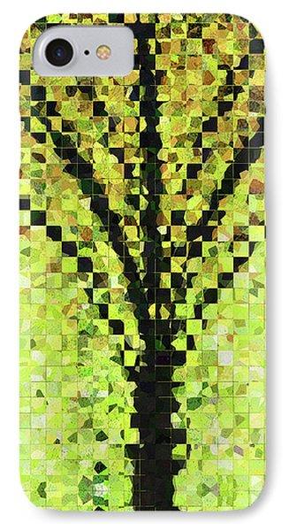Modern Landscape Art - Pieces 10 - Sharon Cummings IPhone Case by Sharon Cummings