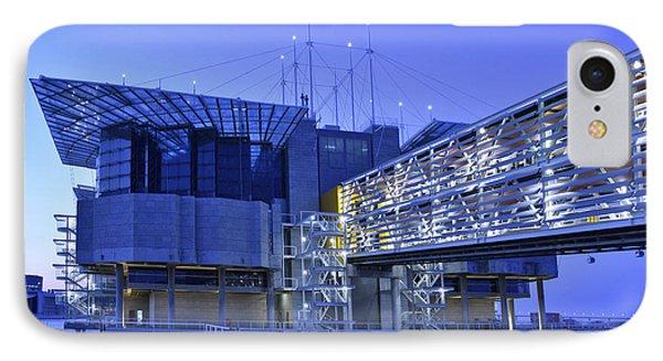 IPhone Case featuring the photograph Modern Lisbon Aquarium by Marek Stepan