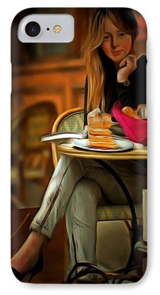 Modern Marie Antoinette IPhone Case