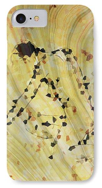Modern Nude Art 2 By Sharon Cummings IPhone Case by Sharon Cummings