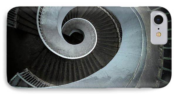IPhone Case featuring the photograph Modern Spiral Stairs by Jaroslaw Blaminsky