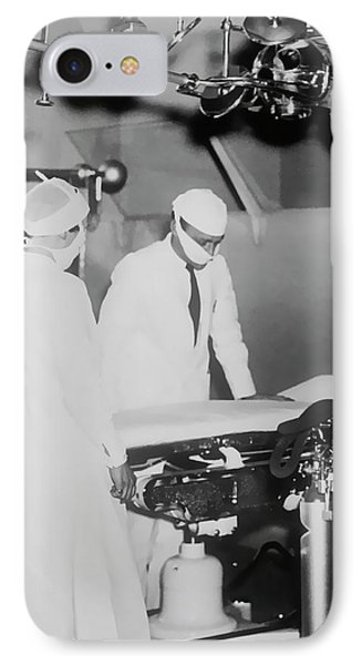 IPhone Case featuring the photograph Modern Surgery by Daniel Hagerman