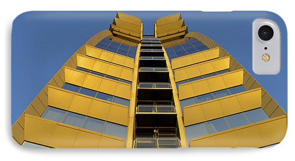 Modern W Hotel Barcelona Spain IPhone Case by Marek Stepan