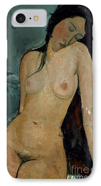 Modigliani: Nude, C1917 Phone Case by Granger