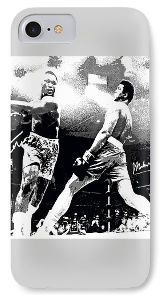 Mohamed Ali Float Like A Butterfly IPhone Case