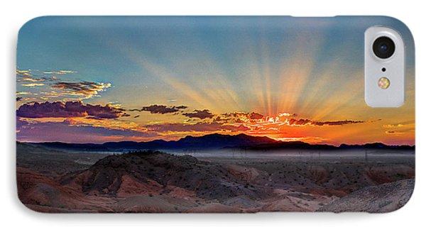 Mohave Sunrise IPhone Case by Mark Dunton