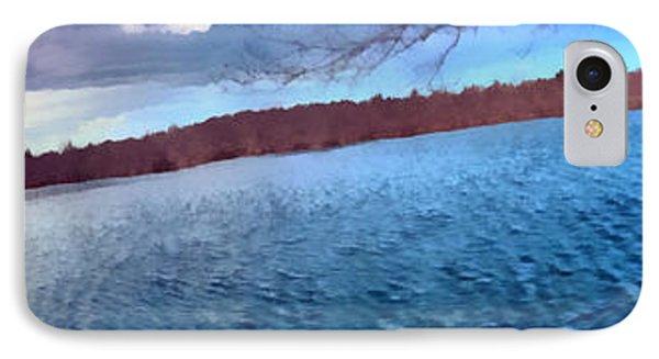 Mohegan Lake Panoramic Lake IPhone Case by Derek Gedney
