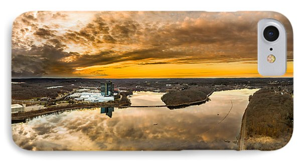 IPhone Case featuring the photograph Mohegan Sun Sunset by Petr Hejl
