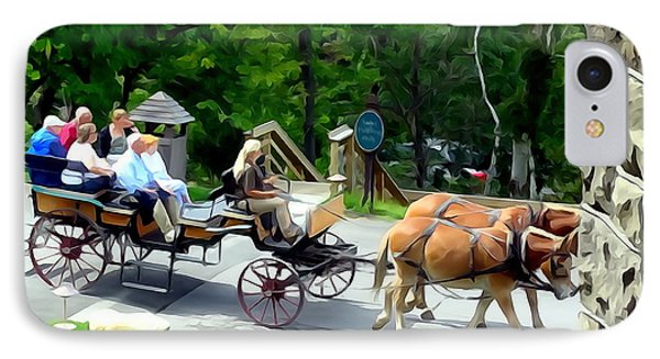 Mohonk Carriage Tour IPhone Case