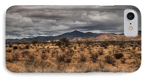 IPhone Case featuring the photograph Mojave Landscape 001 by Lance Vaughn