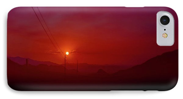 Mojave Sunrise IPhone Case by Mark Dunton