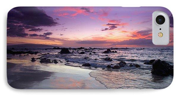 Mokapu Beach Sunset Phone Case by Ron Dahlquist - Printscapes