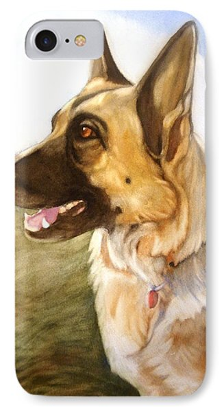 Mollie IPhone Case by Marilyn Jacobson