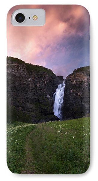 Mollisfossen IPhone Case